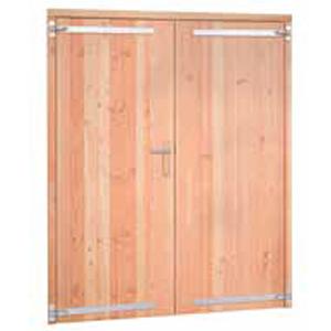 Douglas dubbele deur volhout