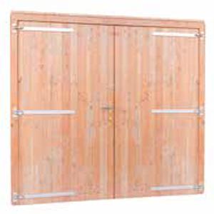 Douglas dubbele deur volhout (breed)