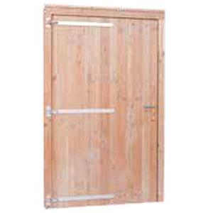 Douglas enkele deur volhout (breed)