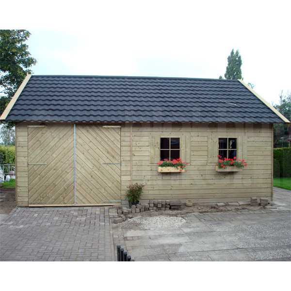 Woodford houtskeletbouw garage Berkeley 500x650