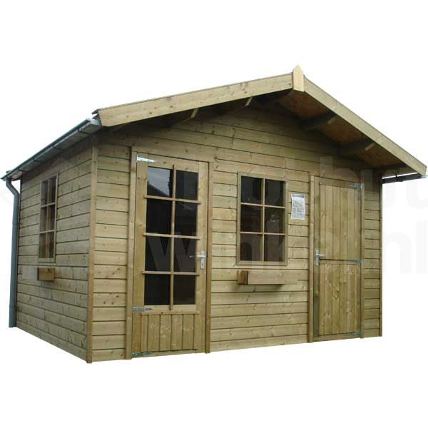 Woodford houtskeletbouw tuinhuis Cardiff 450x600