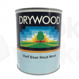 Drywood Paint Rood 1L