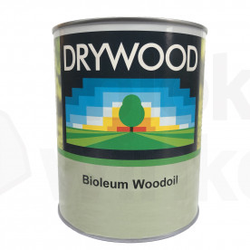 Drywood Bioleum Woodoil Antraciet 1L