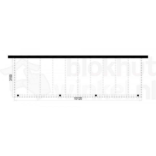 Plattegrond Overkapping Outback Panorama 1012x310