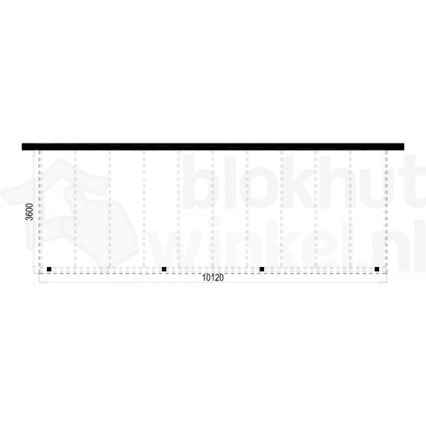Plattegrond Overkapping Outback Panorama 1012x360