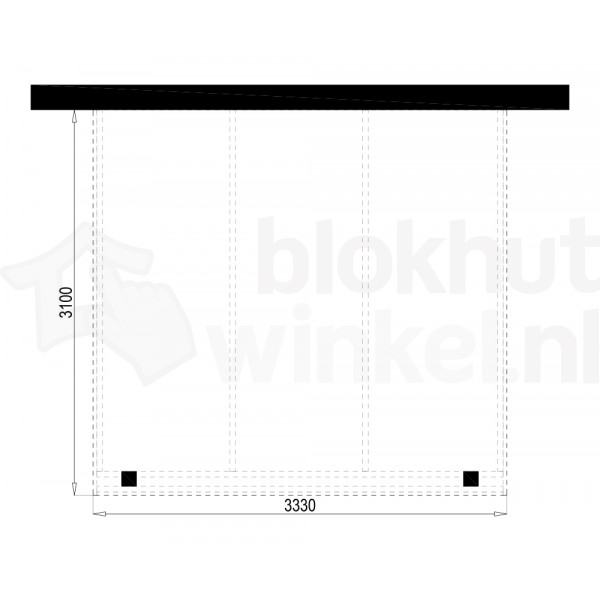 Plattegrond Overkapping Outback Panorama 333x310