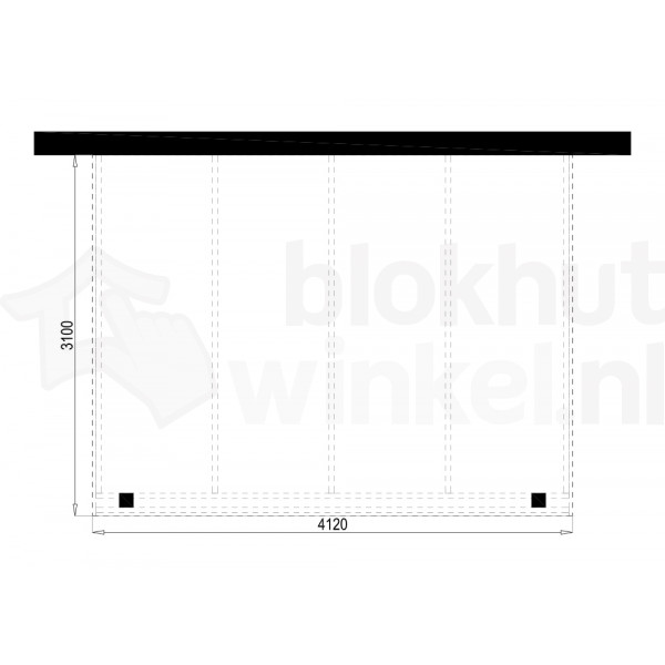 Plattegrond Overkapping Outback Panorama 412x310