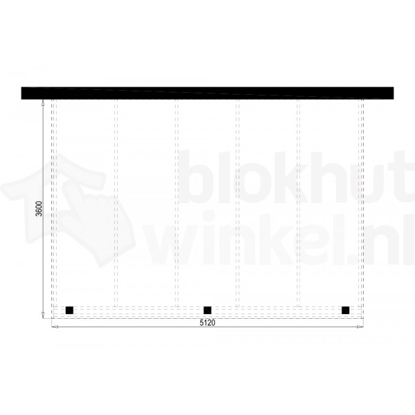 Plattegrond Overkapping Outback Panorama 512x360