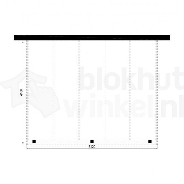 Plattegrond Overkapping Outback Panorama 512x410