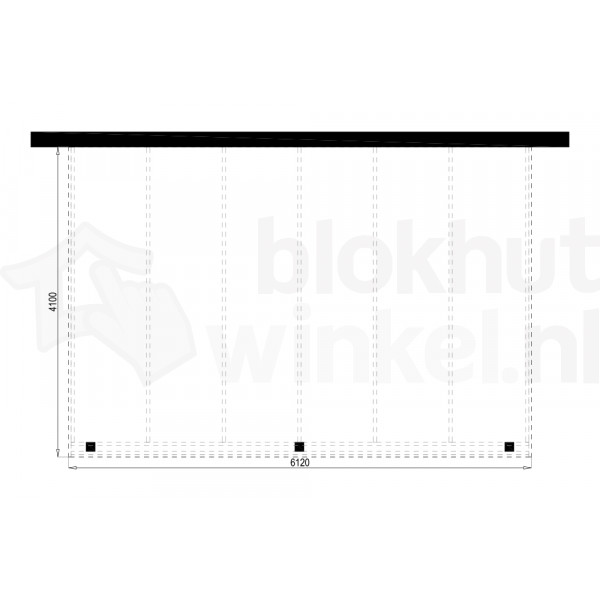 Plattegrond Overkapping Outback Panorama 612x410