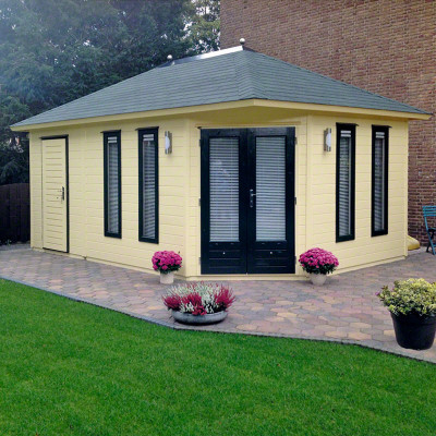 Lugarde tuinhuis Fifth Avenue 360x540 Duo Maxi V16