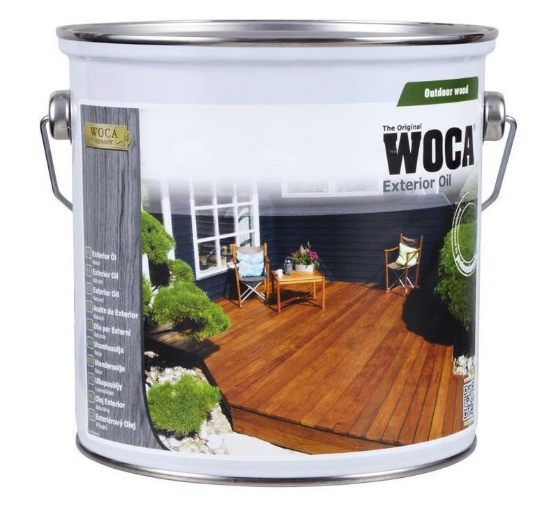 Afbeelding van Woca Exterior Oil 2,5 liter
