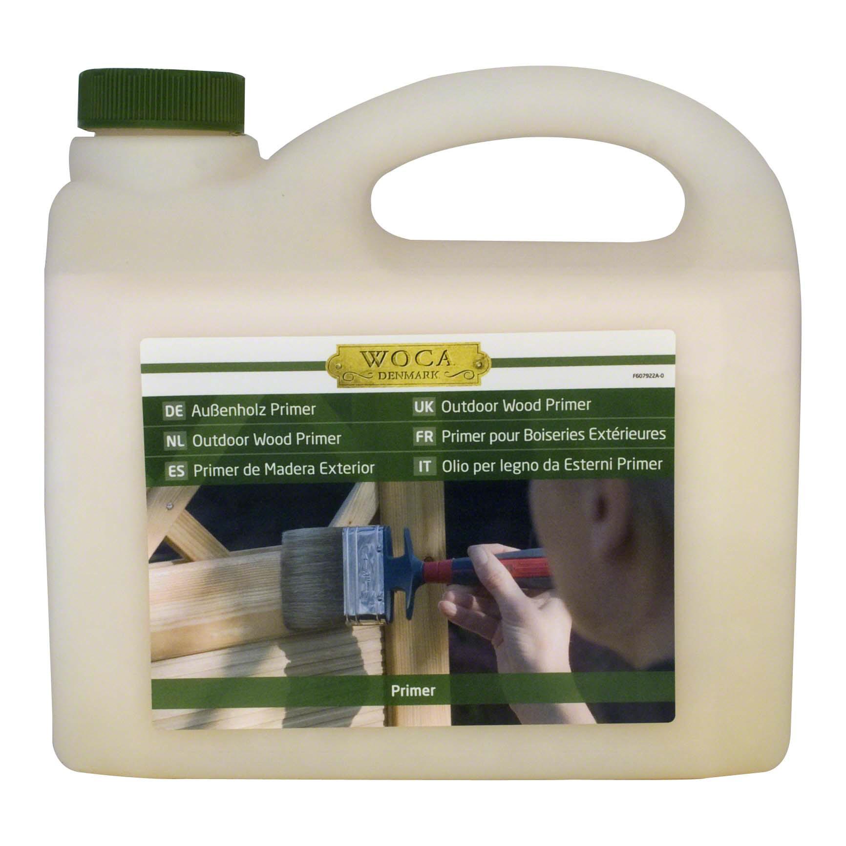 Afbeelding van Primer voor onbehandeld hout 2,5 liter