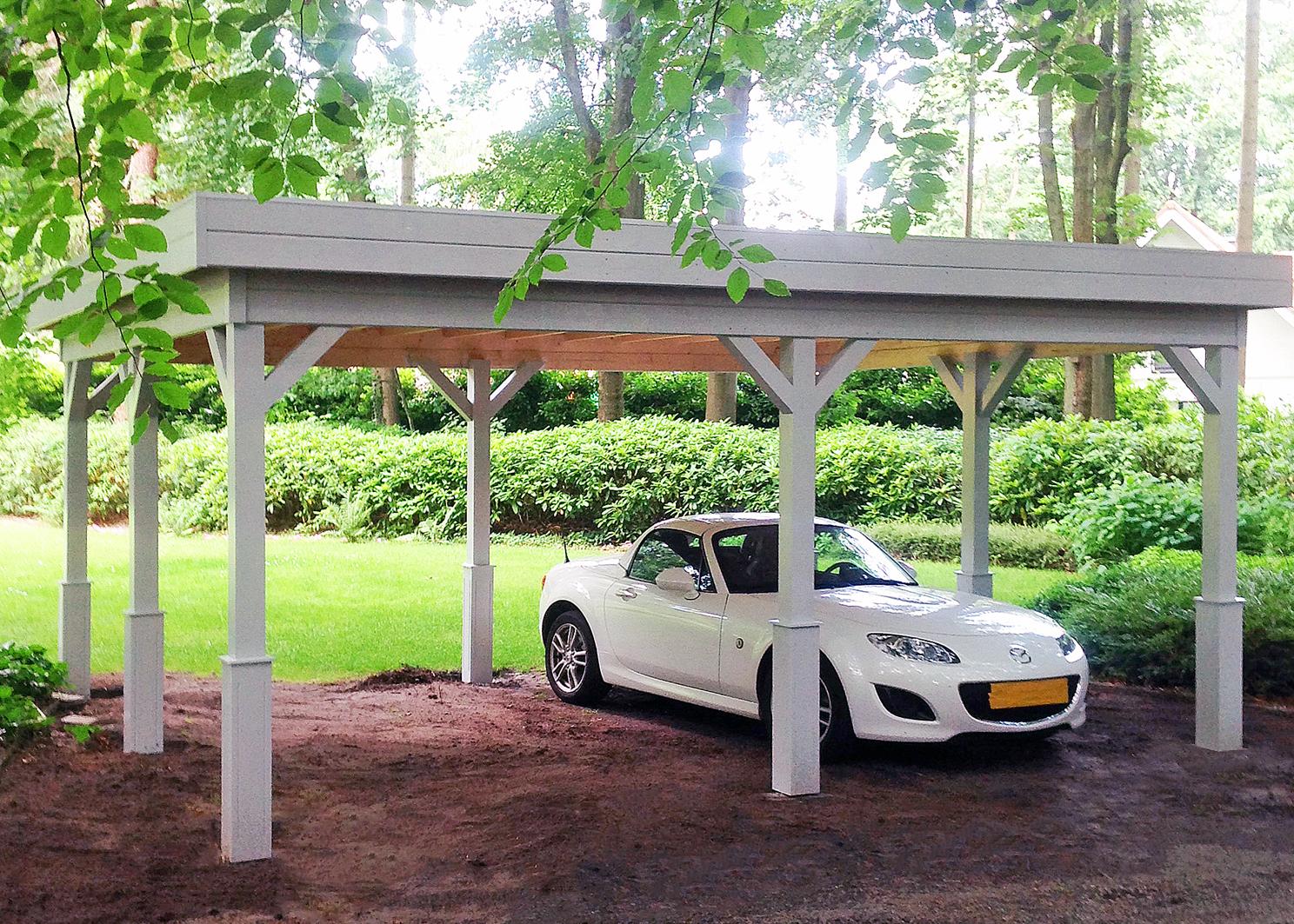 Afbeelding van Carport 420x540 geïmpregneerd