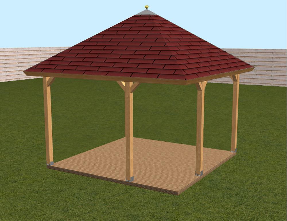 Afbeelding van 5- hoekige veranda 300x300 OP=OP!
