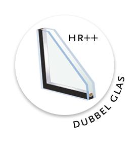 Lugarde standaard met dubbel glas