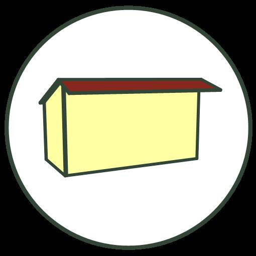 Kapschuur dak
