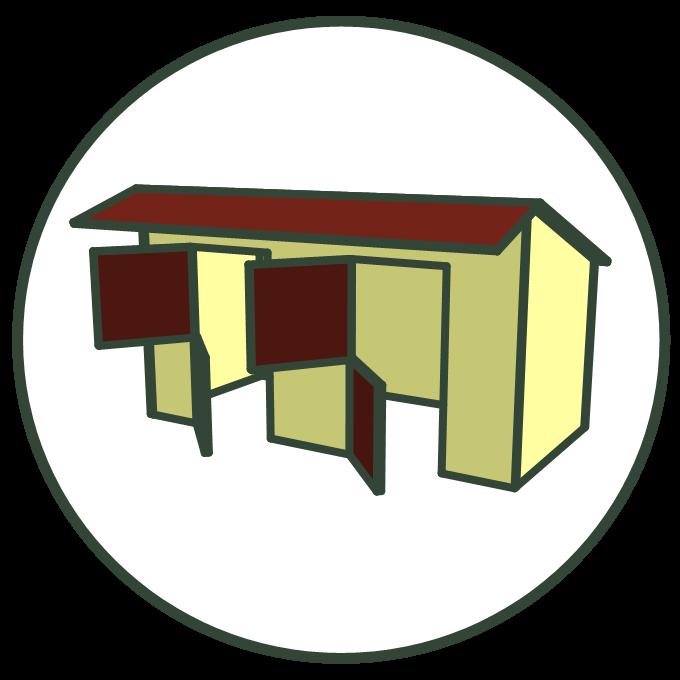 Dierenverblijven