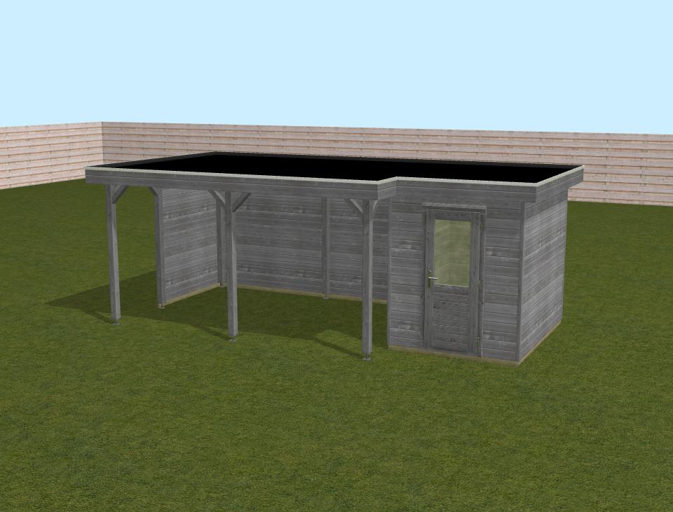 Voorbeeld lugarde 3D model