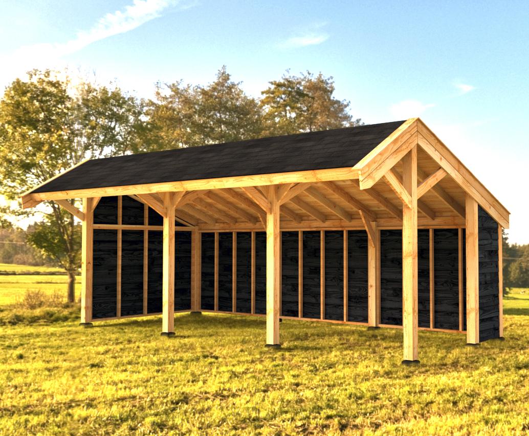 Woodvision Kapschuur Modulair Salland