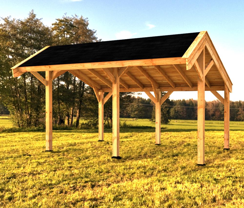Woodvision Kapschuur Modulair Waterland