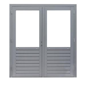 Woodvision Prestige deur glas dubbel (hardhout)