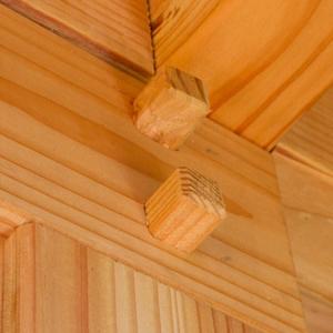 Woodvision douglas doken detail